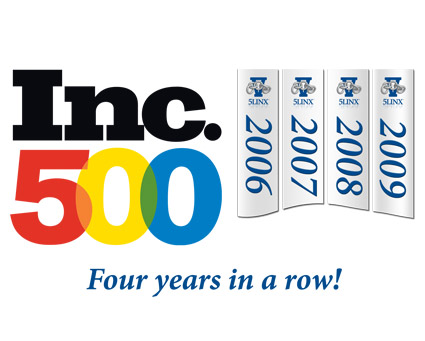 5LINX on inc500 4 consecutive years
